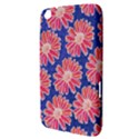 Pink Daisy Pattern Samsung Galaxy Tab 3 (8 ) T3100 Hardshell Case  View3