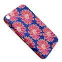 Pink Daisy Pattern Samsung Galaxy Tab 3 (8 ) T3100 Hardshell Case  View5