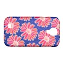 Pink Daisy Pattern Samsung Galaxy S4 Classic Hardshell Case (PC+Silicone) View1