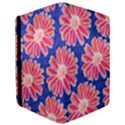 Pink Daisy Pattern iPad Mini 2 Flip Cases View3