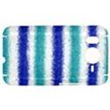 Metallic Blue Glitter Stripes HTC Desire HD Hardshell Case  View1