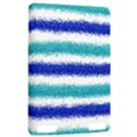 Metallic Blue Glitter Stripes Kindle Touch 3G View2