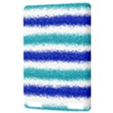 Metallic Blue Glitter Stripes Kindle Touch 3G View3