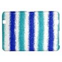 Metallic Blue Glitter Stripes Kindle Fire HD 8.9  View1