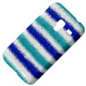 Metallic Blue Glitter Stripes Samsung Galaxy Ace Plus S7500 Hardshell Case View4