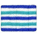 Metallic Blue Glitter Stripes Samsung Galaxy Tab 7  P1000 Flip Case View1