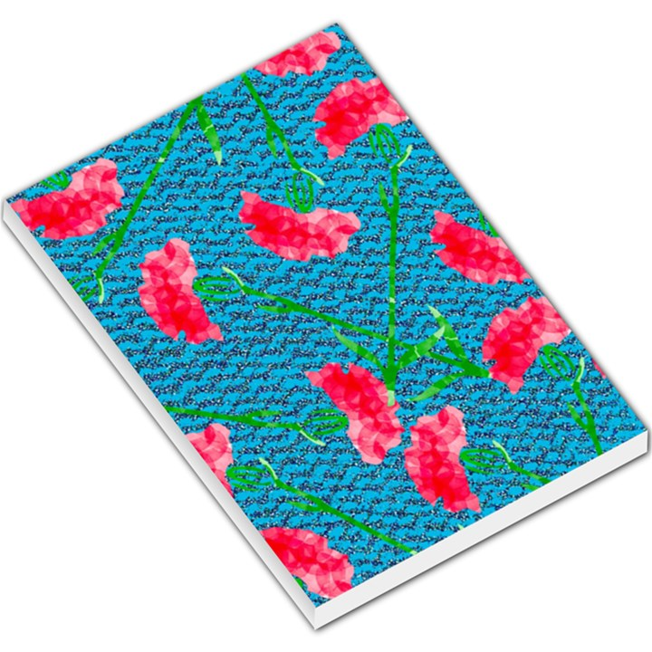 Carnations Large Memo Pads