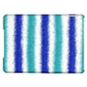Metallic Blue Glitter Stripes iPad Air Hardshell Cases View1