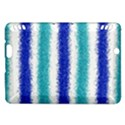 Metallic Blue Glitter Stripes Kindle Fire HDX Hardshell Case View1