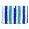 Metallic Blue Glitter Stripes Samsung Galaxy Tab Pro 10.1 Hardshell Case View1