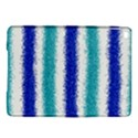 Metallic Blue Glitter Stripes iPad Air 2 Hardshell Cases View1
