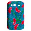Carnations HTC Wildfire S A510e Hardshell Case View2
