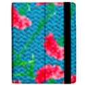 Carnations Apple iPad 3/4 Flip Case View2