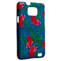 Carnations Samsung Galaxy S II i9100 Hardshell Case (PC+Silicone) View2
