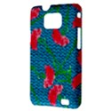 Carnations Samsung Galaxy S II i9100 Hardshell Case (PC+Silicone) View3