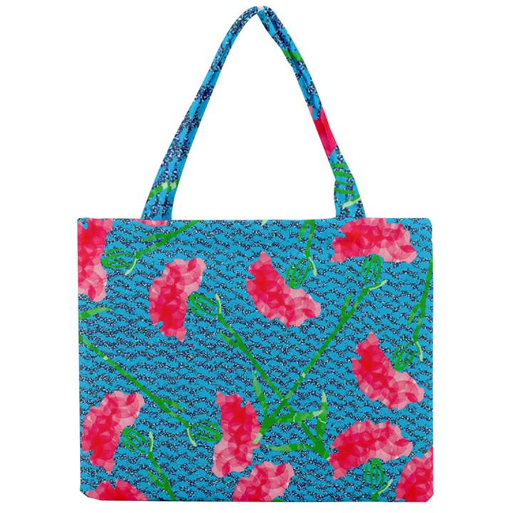 Carnations Mini Tote Bag