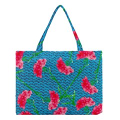 Carnations Medium Tote Bag