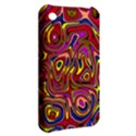 Abstract Shimmering Multicolor Swirly Apple iPhone 3G/3GS Hardshell Case View2