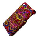Abstract Shimmering Multicolor Swirly Apple iPhone 3G/3GS Hardshell Case View4