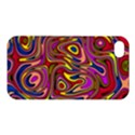 Abstract Shimmering Multicolor Swirly Apple iPhone 4/4S Hardshell Case View1