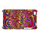 Abstract Shimmering Multicolor Swirly Apple iPod Touch 4 View1