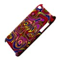 Abstract Shimmering Multicolor Swirly Apple iPod Touch 4 View4