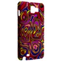 Abstract Shimmering Multicolor Swirly Samsung Galaxy Note 1 Hardshell Case View2