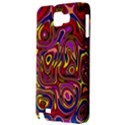 Abstract Shimmering Multicolor Swirly Samsung Galaxy Note 1 Hardshell Case View3