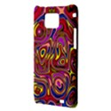 Abstract Shimmering Multicolor Swirly Samsung Galaxy S2 i9100 Hardshell Case  View3