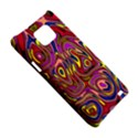Abstract Shimmering Multicolor Swirly Samsung Galaxy S2 i9100 Hardshell Case  View5