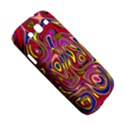 Abstract Shimmering Multicolor Swirly Samsung Galaxy S III Hardshell Case  View5