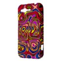 Abstract Shimmering Multicolor Swirly HTC Rhyme View3