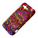 Abstract Shimmering Multicolor Swirly HTC Rhyme View4
