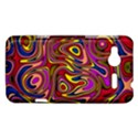 Abstract Shimmering Multicolor Swirly HTC Radar Hardshell Case  View1