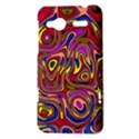 Abstract Shimmering Multicolor Swirly HTC Radar Hardshell Case  View3