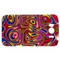 Abstract Shimmering Multicolor Swirly HTC Sensation XL Hardshell Case View1