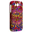 Abstract Shimmering Multicolor Swirly HTC Sensation XL Hardshell Case View2