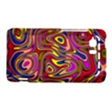 Abstract Shimmering Multicolor Swirly HTC Vivid / Raider 4G Hardshell Case  View1