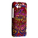 Abstract Shimmering Multicolor Swirly HTC Vivid / Raider 4G Hardshell Case  View2