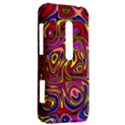 Abstract Shimmering Multicolor Swirly HTC Evo 3D Hardshell Case  View2