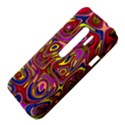 Abstract Shimmering Multicolor Swirly HTC Evo 3D Hardshell Case  View4