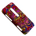 Abstract Shimmering Multicolor Swirly HTC Evo 3D Hardshell Case  View5