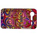 Abstract Shimmering Multicolor Swirly HTC Incredible S Hardshell Case  View1
