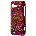 Abstract Shimmering Multicolor Swirly HTC Incredible S Hardshell Case  View3