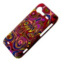 Abstract Shimmering Multicolor Swirly HTC Incredible S Hardshell Case  View4