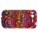 Abstract Shimmering Multicolor Swirly HTC Desire S Hardshell Case View1