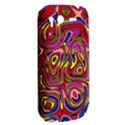 Abstract Shimmering Multicolor Swirly HTC Desire S Hardshell Case View2