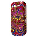 Abstract Shimmering Multicolor Swirly HTC Desire S Hardshell Case View3