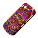 Abstract Shimmering Multicolor Swirly HTC Desire S Hardshell Case View4