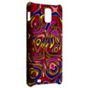 Abstract Shimmering Multicolor Swirly Samsung Infuse 4G Hardshell Case  View2